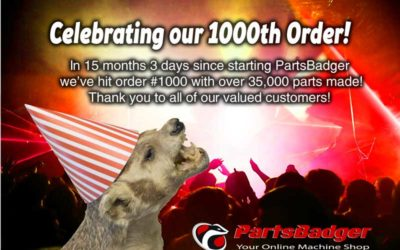 Celebrating Our 1000th Order