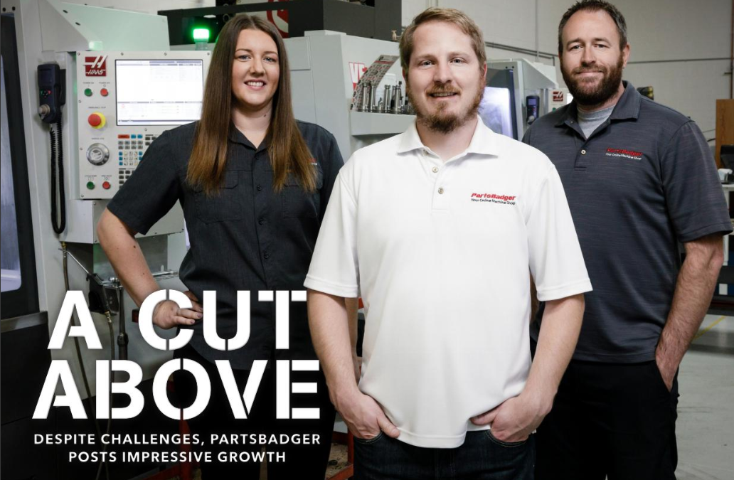 PartsBadger: A Cut Above
