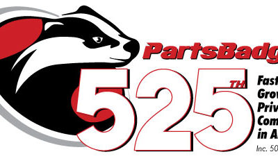 PartsBadger Ranks No. 525 on the 2021 Inc. 5000